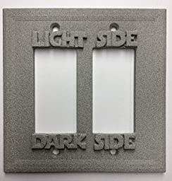 Star Wars (Light/Darkside) Double Decorator Switch/Outlet Cover (Stone)