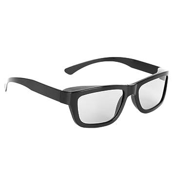 aibii Circular polarizado pasivo 3d gafas estéreo negro para 3d tv real D IMAX cines