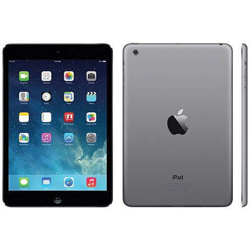 Apple iPad Mini with WiFi + AT&T 4G 16GB Space Gray - -
