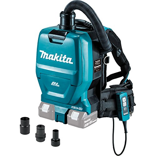 Makita XCV05ZX 18V X2 LXT Backpack Dry Dust Extractor/Vacuum