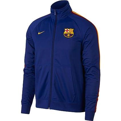 chaussures exclusives profiter de la livraison gratuite découvrir les dernières tendances Nike FC Barcelona Veste Homme, Deep Royal Blue/University ...