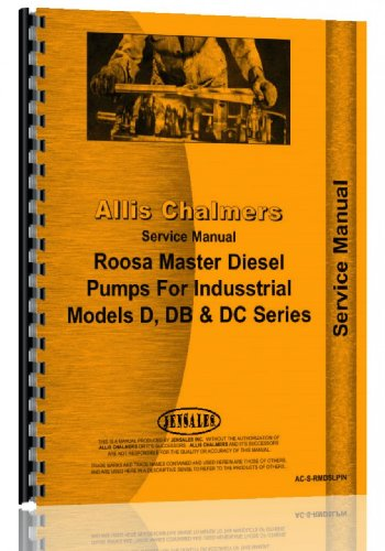 Injection Pump Service Manual () - Allis Chalmers AC-S-RMDSLPIN