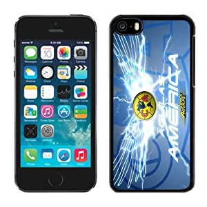 Unique DIY Designed Case For iPhone 5C With Soccer Club Club America 04 Football Logo Cell Phone Case