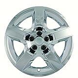 2008, 2009, 2010, 2011, 2012 Chevy Malibu Chrome Factory Replica Wheel Covers / Hubcaps (Set of 4) - 17''