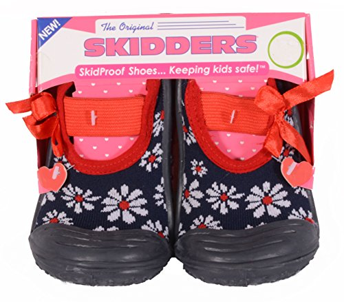 Pictures of SKIDDERS Baby Toddler Girls Mary Jane Shoes Style #XY4147N (10) 3 Years 1