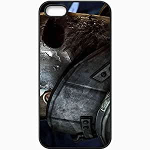 Personalized iPhone 5 5S Cell phone Case/Cover Skin Army Of Two Black