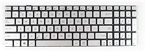 New Keyboard for ASUS Q550 Q550L Q550LF N550LF N550J N550JA N550JK N550JV N550JX N750 N750J N750JK N750JV with Backlit Sliver US