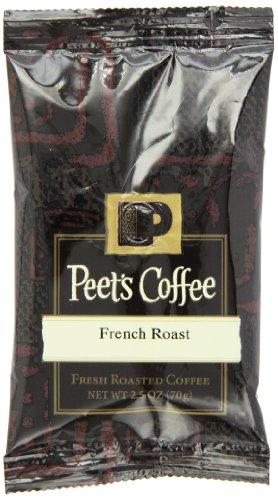 Peet's Coffee French Roast Teach Coffee, Dark Roast, 2.5-Ounce Portion Packs (Pack of 18)