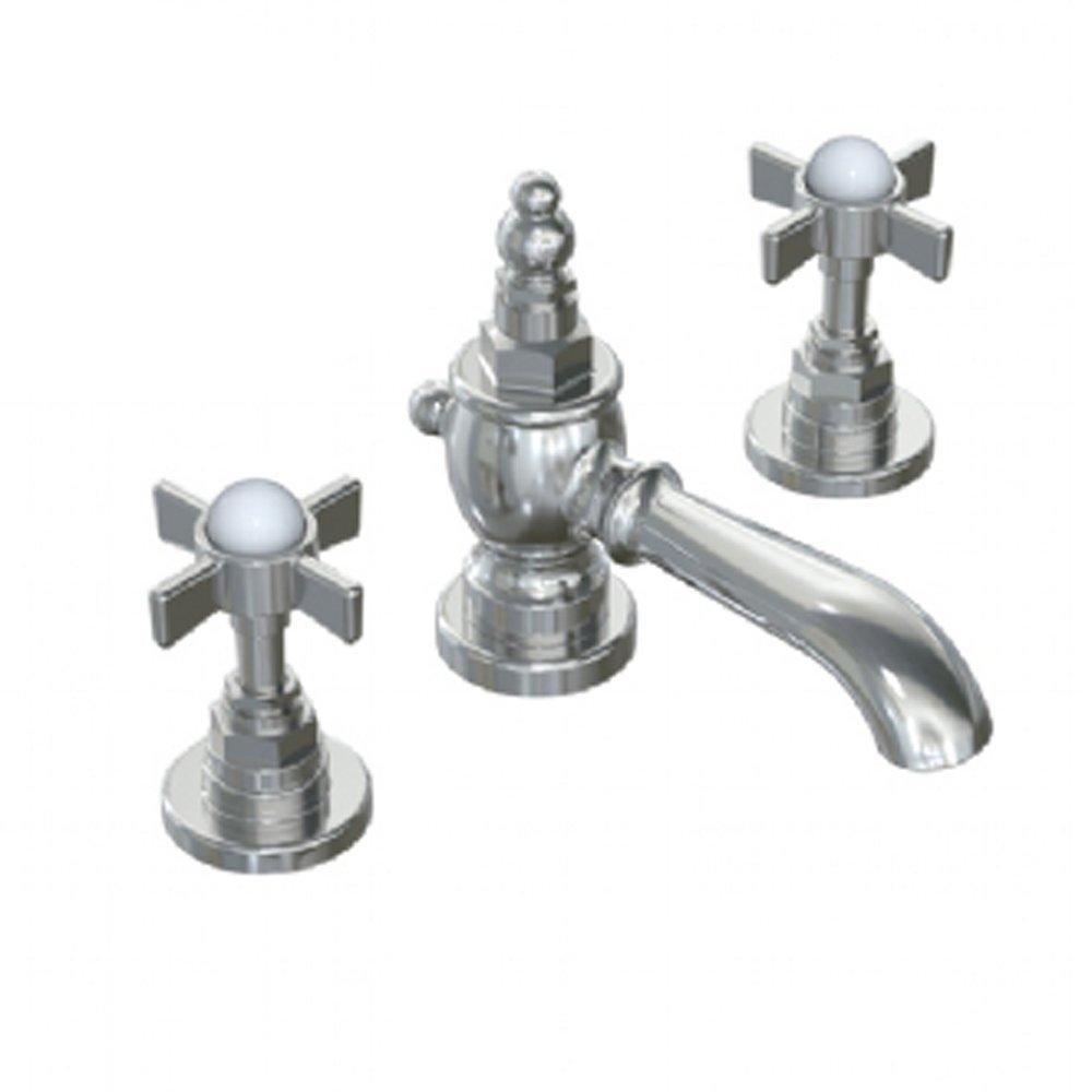Jado 845/003/100 Savina Widespread Lavatory Faucet with Cross Handle ...