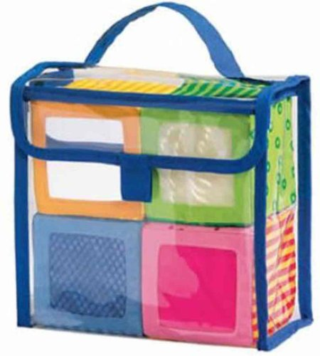 Haba Toy Bag (HABA Happy Quartett Soft Block Set Each with a Unique Sound for Ages 6 Months and)