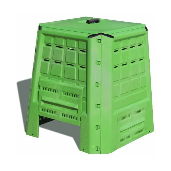 Art Plast BC380 Bio Composter in plastica, Verde 1 spesavip