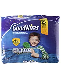 Goodnites Underwear, Boys, 35 ct BOBEBE Online Baby Store From New York to Miami and Los Angeles