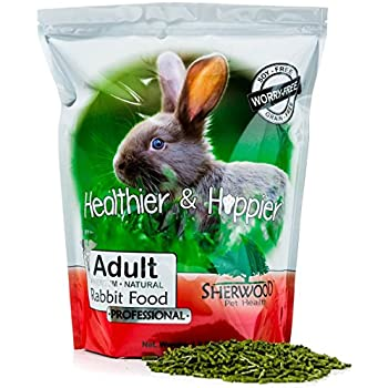 Rabbit Food, Adult Professional by Sherwood Pet Health - (Grain & Soy-Free) - 4.5 lb. (Vet Used)