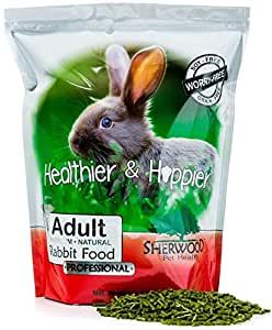 Sherwood PROFESSIONAL Adult Rabbit Food - (Grain & Soy-Free) - 4.5 lb. (Vet Used)