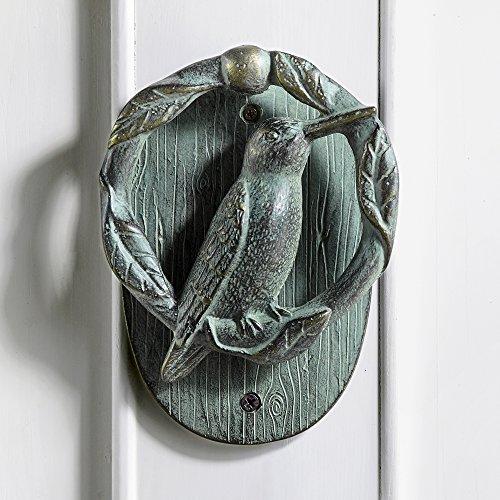Hummingbird Doorknocker (Bird Knocker Door)