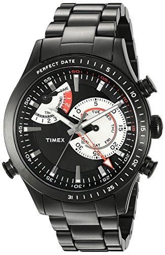 - Timex Men's TW2P72800DH Intelligent Quartz Collection Analog Display Quartz Black Watch