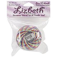 Handy Hands Rainbow Splash 25gm Lizbeth Cordonnet Cotton Thread Size -20