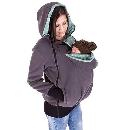 FuweiEncore Mujeres Maternidad Canguro bebé Portador ...