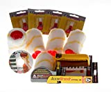 Tools & Hardware : Accubrush MX Paint Edger 11 piece Jumbo kit