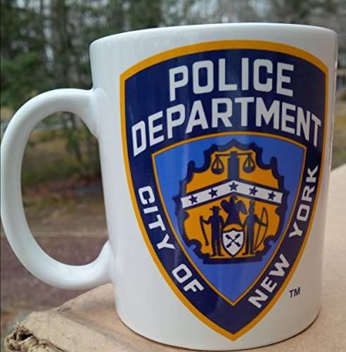 Nypd City of New York Police Department 11 Ounce White Ceramic Coffee (Department Mug)