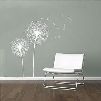 Beau Wall Decal Vinyl Sticker Decals Art Decor Design Dandelion Flower Nature  Plants Botanic Grass Forest Bedroom