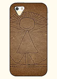 OOFIT Phone Case Design with Stick Figure - Egyptian Queen for Apple iPhone 5 5s 5g