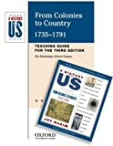 From Colonies to Country, 1735-1791, Joy Hakim, 019516850X