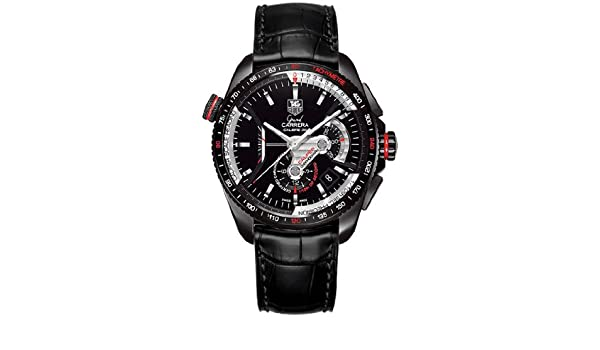 Amazon.com: TAG Heuer Grand Carrera Mens Watch CAV5185.FC6257: Carrera: Watches