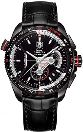 9ea2732d2f56 Image Unavailable. Image not available for. Color  TAG Heuer Grand Carrera  Mens Watch ...