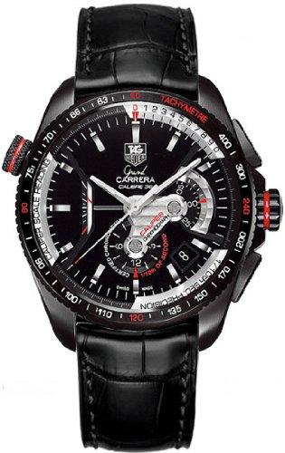 Reloj de pulsera Tag Heuer Grand Carrera para hombre Cav5185.Fc6257: Amazon.es: Relojes