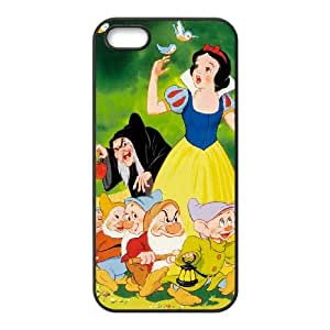 iPhone 4 4s Cell Phone Case Covers Black Snow White and the Seven Dwarfs nje
