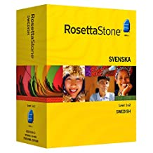 Rosetta Stone Swedish Level 1 & 2 Set with Audio Companion