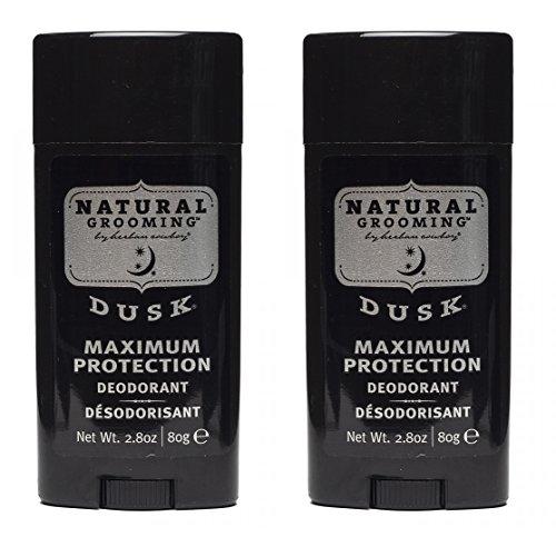 Men's Deodorant 2.8 Ounces each - 2 Pack, Vegan (Triclosan Deodorant)