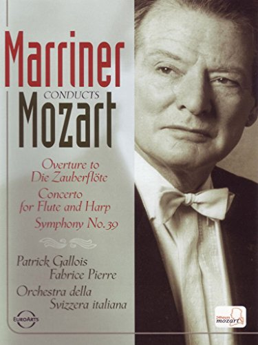 Marriner Conducts Mozart: Overture to Die Zauberflote / Concerto for Flute and Harp / Symphony No. 39
