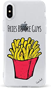 iPhone 8/7 Case by Case Yard Fit for iPhone 8/7 Shock-Absorption iPhone 8/7 Case Clear iPhone 8/7 Clear iPhone 8/7 Case Fries Before Guys