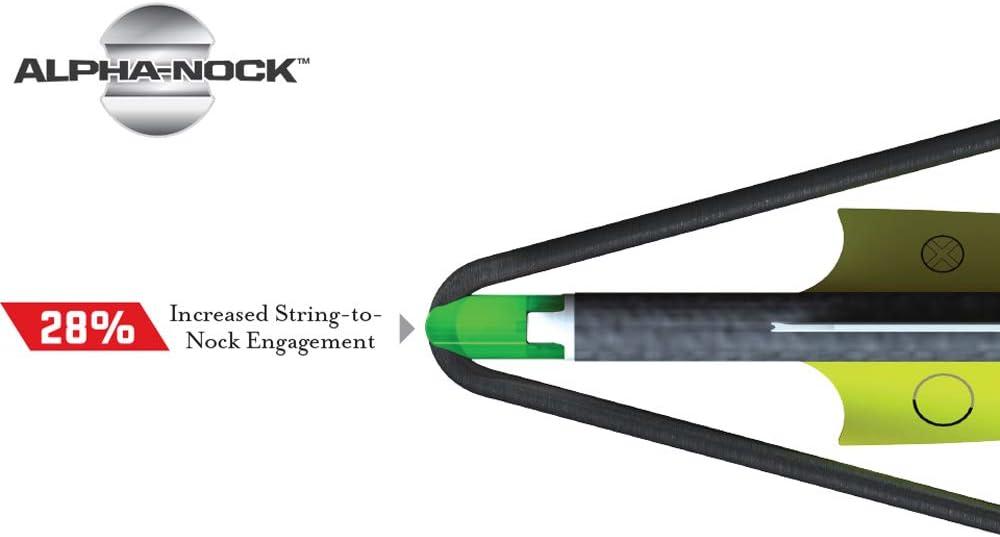 TenPoint Alpha-Nocks Green 6 pack