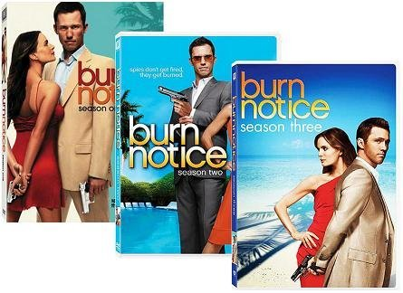 Burn Notice: Seasons 1-3 by Jeffrey Donovan -  DVD
