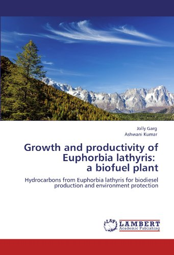Growth and productivity of Euphorbia lathyris:   a biofuel plant: Hydrocarbons from Euphorbia  lathyris for  biodiesel  production and environment protection