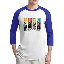 Mooy Phish Bands Baseball Shirt New Style Casual RoyalBlue