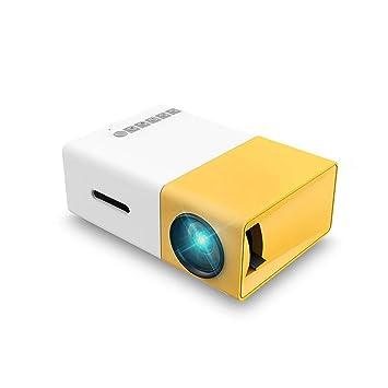 GJZhuan Yg300 Mini proyector, Full HD 1080P y proyector portátil ...