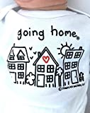 Unisex Newborn Going Home ® Outfit, Summer Baby Clothes, Neutral Baby Gift, Adoption Baby, Coming Home Outfit, Short Sleeve, White, up to 12.5 lbs
