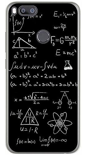 Tumundosmartphone Funda Gel TPU para XIAOMI MI 5X / MI A1 diseño Formulas Dibujos: Amazon.es: Electrónica