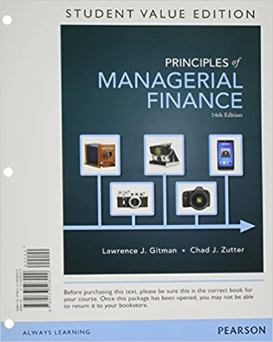 Principles of managerial finance student value edition 14th principles of managerial finance student value edition 14th edition 9780133508000 economics books amazon fandeluxe Choice Image