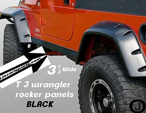 (Jeep Black Tj Wrangler 3 1/2