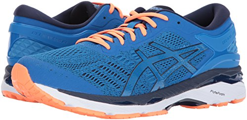 Asics Mens Gel-Kayano® 24 (2E) Shoes Directoire Blue/Peacoat/Hot Orange LNzgv8