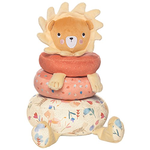 - Manhattan Toy Safari Lion Soft Stuffed Animal Baby Stacking Toy
