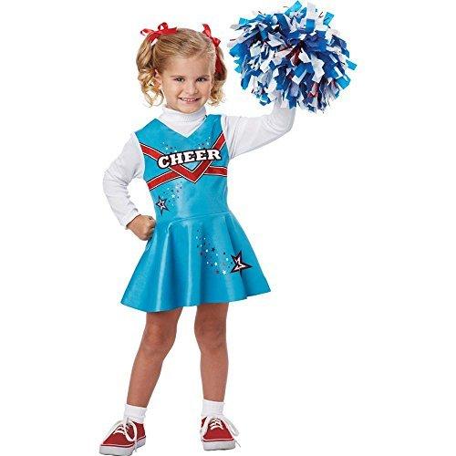 California Costumes Cheerleader Toddler Costume, 3-4]()