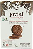 Jovial Crispy Cocoa Einkorn Organic Cookies, 8.8-Ounce (Pack of 6) by Jovial Foods