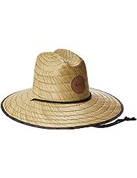 Quiksilver Mens Standard Dredge Waterman Straw Sun Hat
