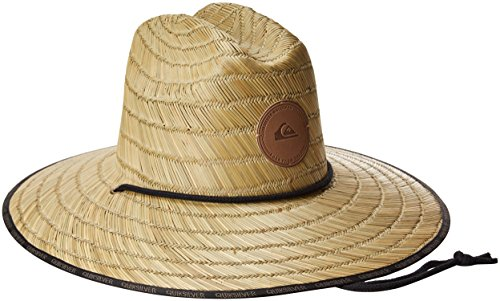 Quiksilver Men's Dredge Waterman Straw Sun Hat, Natural, ()
